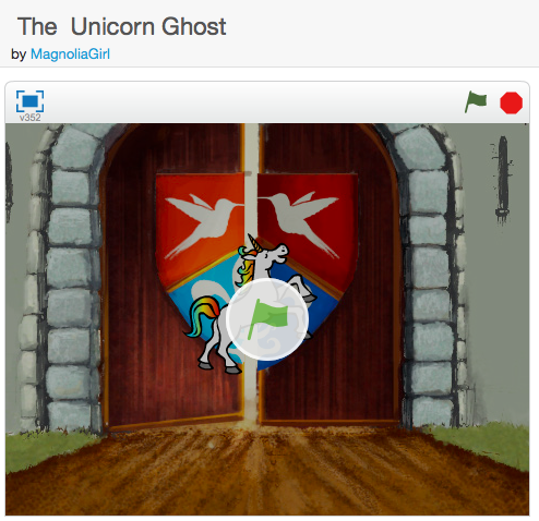 The Unicorn Ghost