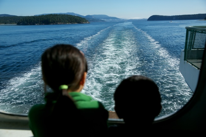 Ferry to Friday Harbor